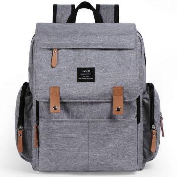 Mochila New land Gris Clara